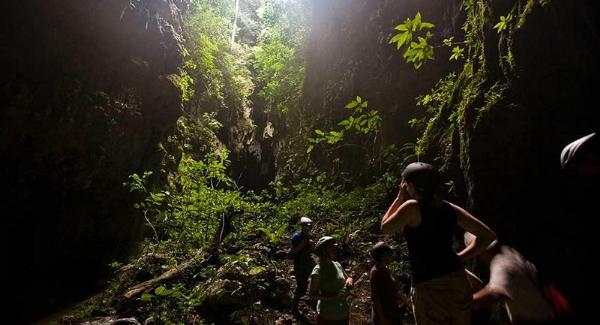 tiger cave exploration